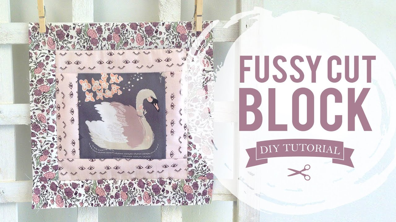 Agf Quilt Block Collection Fussy Cut Quilt Block Tutorial