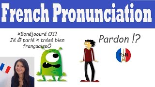 French pronunciation (introduction)