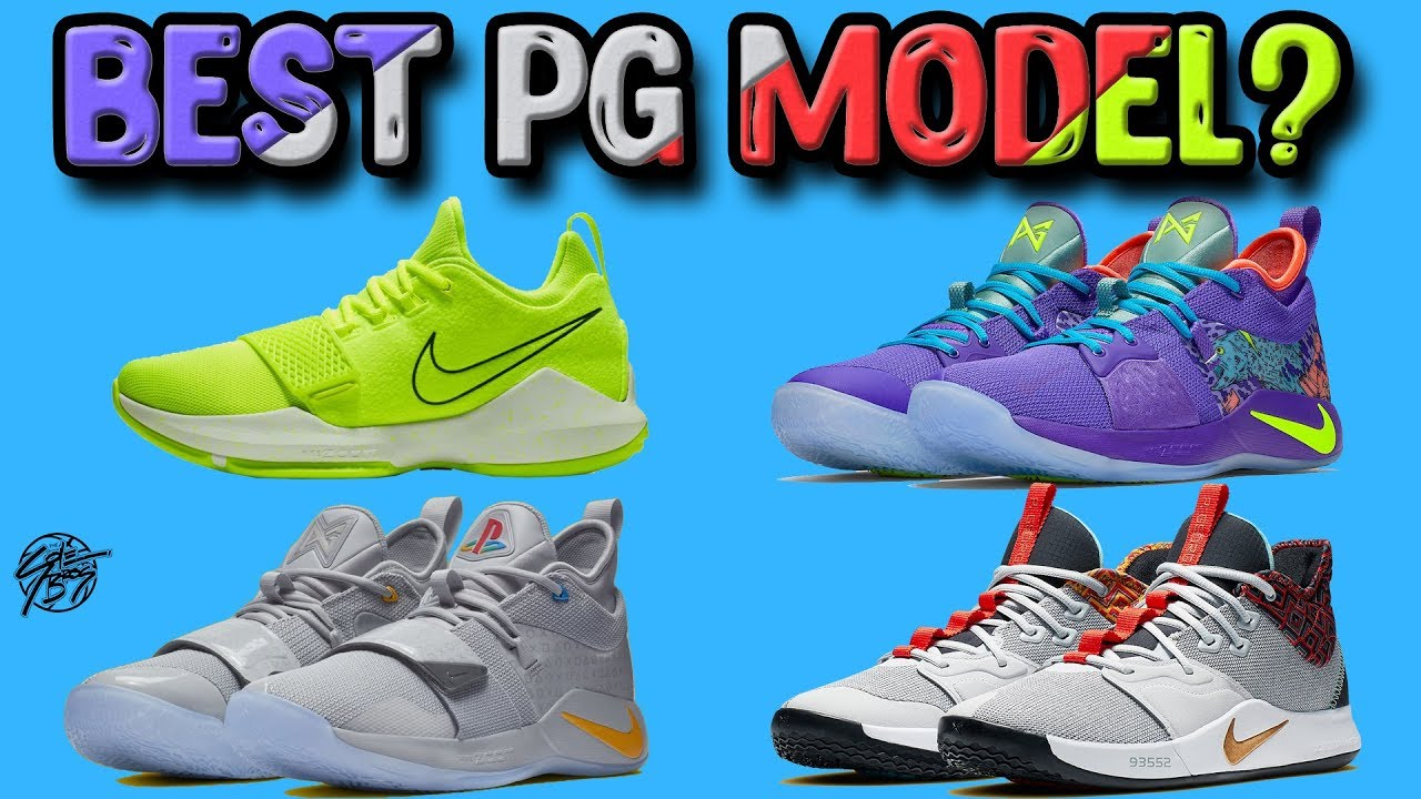 a74fea00 Nike PG (Paul George) Signature Shoe Line Comparison! What's the Best Shoe  to Hoop In?!