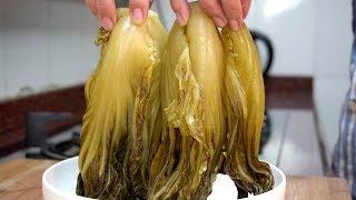 酸菜不用外面买了,学会潮汕这个特色腌制方法,比买的健康还好吃
