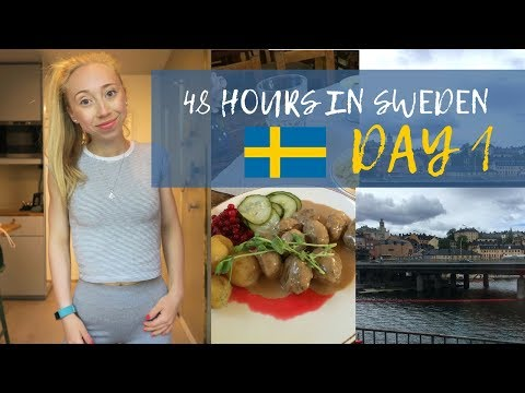 48 HOURS IN SWEDEN! | Day 1 - Meatballs & Midsummer!
