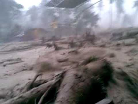 Typhoon Pablo debris flow in Compostela Valley