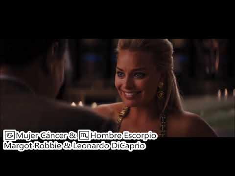 ♋Mujer Cáncer y ♏Hombre Escorpio | Pareja Perfecta (Leonardo DiCaprio de Escorpio)