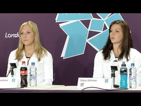 Team USA Olympic Press Conference: Syncronized Swimming