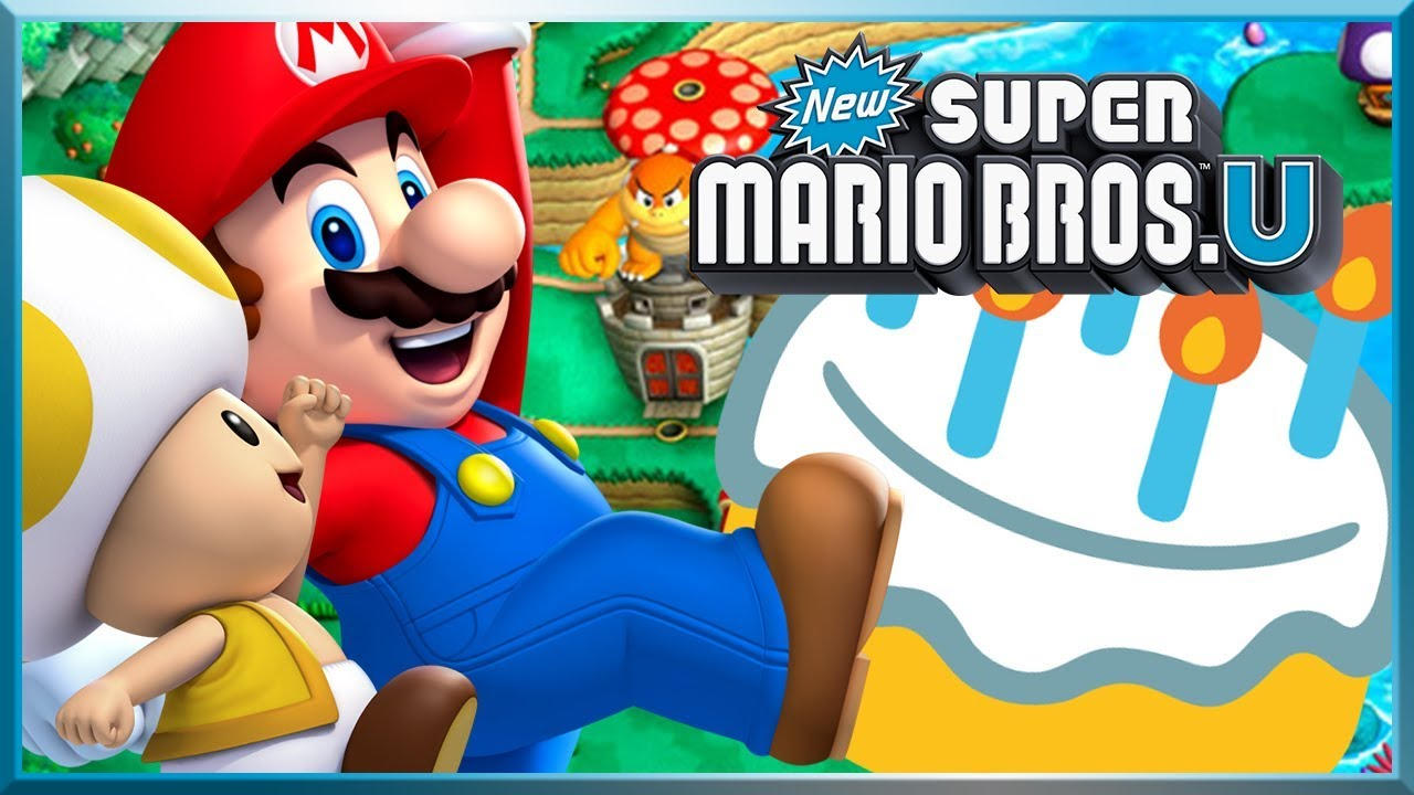 5 ANS DE YOUTUBE... NEW SUPER MARIO BROS. U AVEC KIKI !
