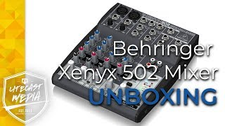 Open This - Behringer Xenyx 502 Mixer