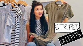 How to: Wear STRIPES | 7 CAUSAL LOOKS