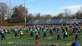 Ravenna Ravens Marching Band - OMEA State Finals 2011