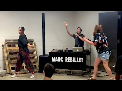 Surprise show for high school english class on their last day!