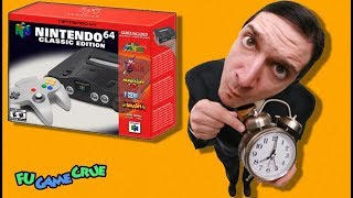Why The Nintendo 64 Classic Edition Hasn't Been Released Yet!