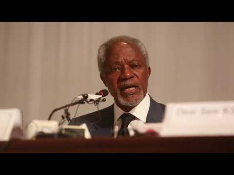 Mr Kofi Annan's remarks on the release of the final report
