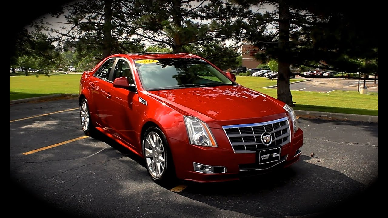 2011 Cadillac Cts Premium Awd 3 6l V6 Start Up Review