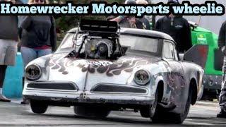 Home Wrecker Motorsports Wheelie at Winter Meltdown No Prep