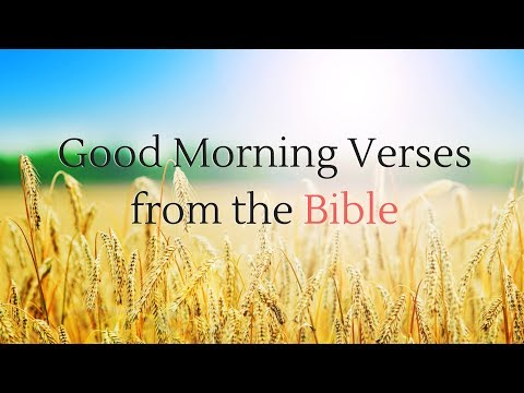 Good morning images with biblical quotes