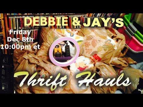 Thrifty Business Thrift Haul #49 With Debbie Wieder
