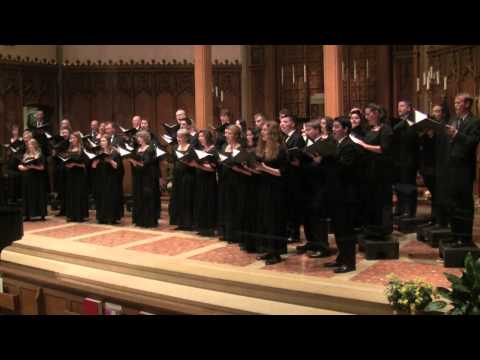 The Singers - How can I keep from singing - arr. Matthew Culloton