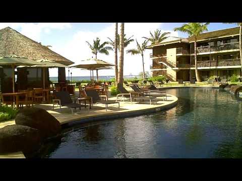Koa Kea Hotel & Resort on Poipu Beach, Kauai - Lobby Walk-Thru
