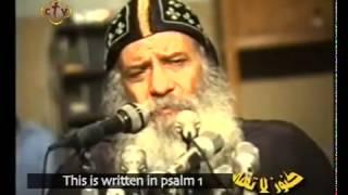 الإرادة † عظه رائعه لازم تسمعها  للبابا شنوده الثالث † 1990 † Pope Shenouda III † Will Power