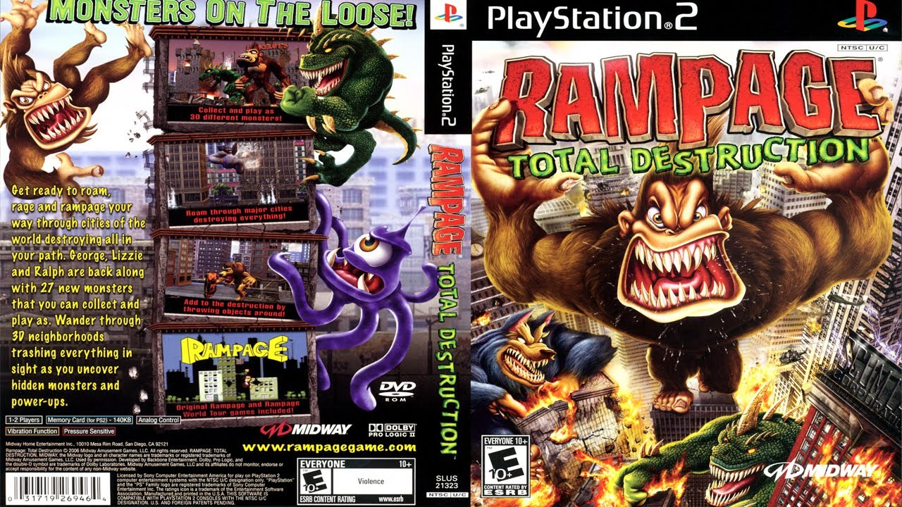 rampage total destruction iso ps2