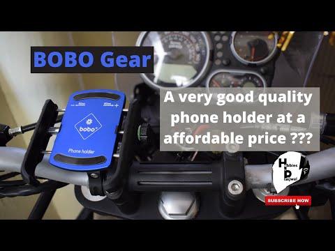 Aluminium jaw grip phone Holder | himalyan BS6 | Bobo | 959 INR only