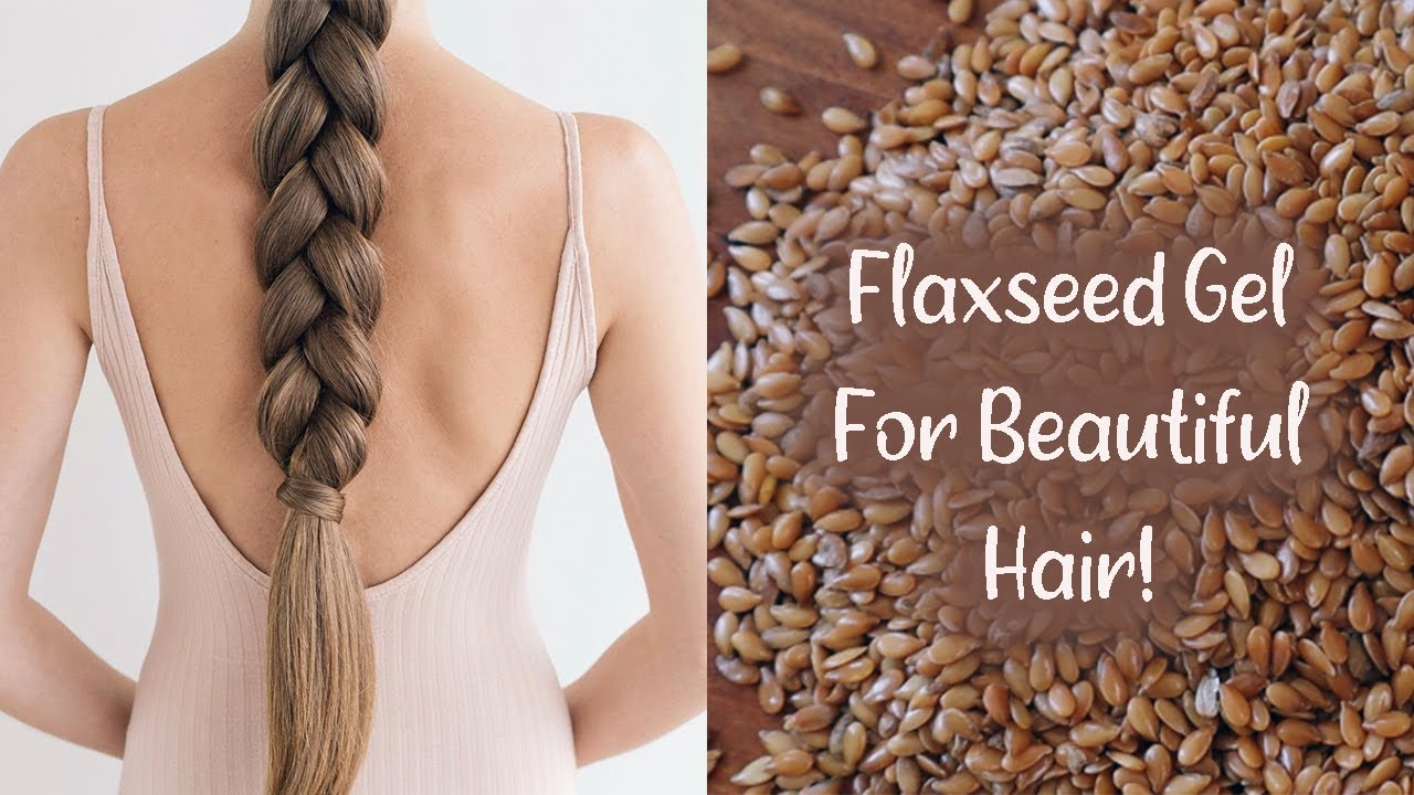 Download DIY FLAXSEED GEL! For Hair Growth & Shiny, Soft Hair (MUST TRY)