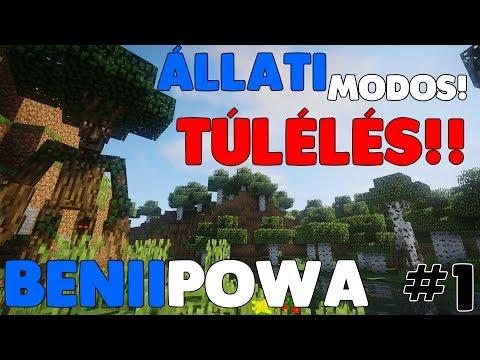 ÁLLATI MODOS TÚLÉLÉS! #1 - BENIIPOWA