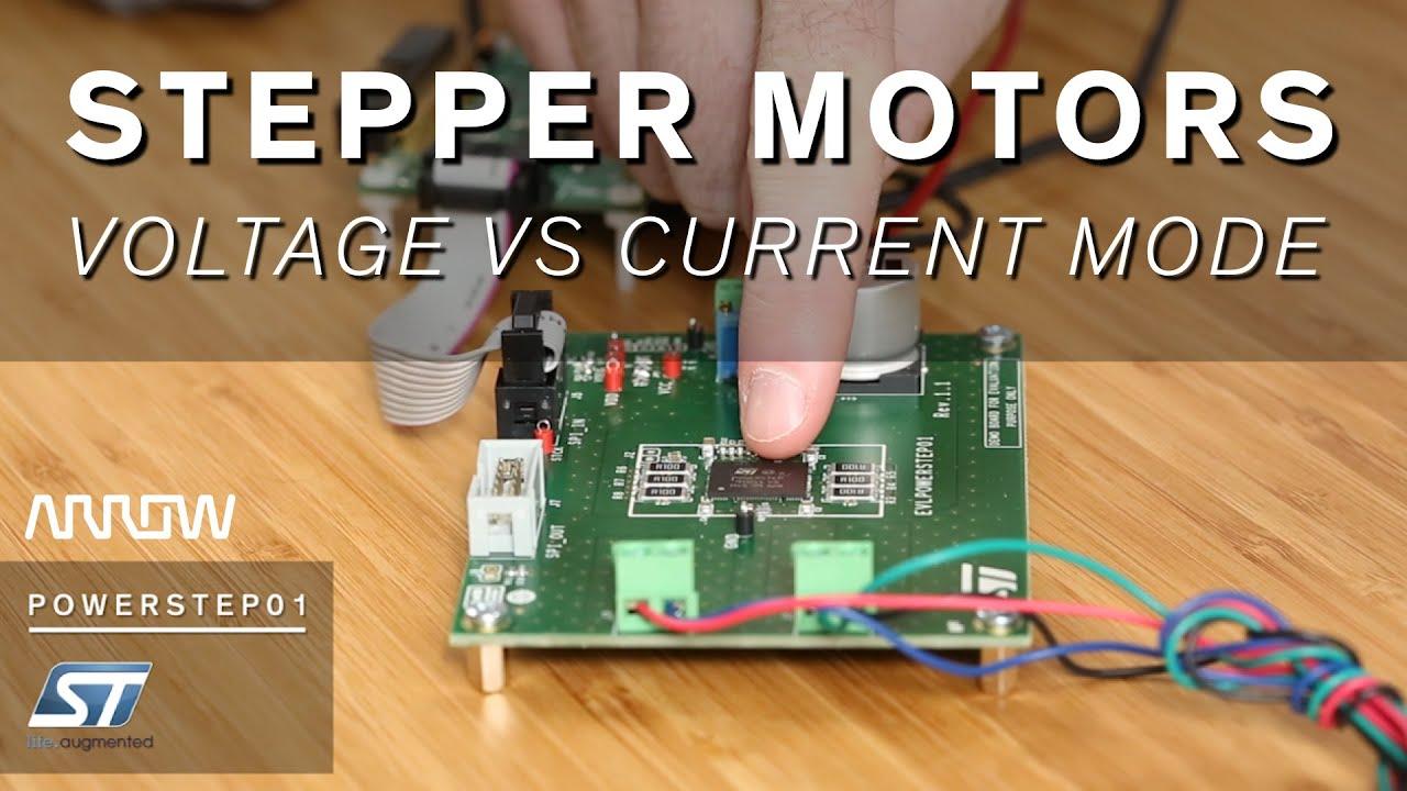 Voltage Versus Current Mode Control In Stepper Motors