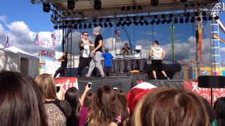 Say Something - Austin Mahone live (soundcheck)