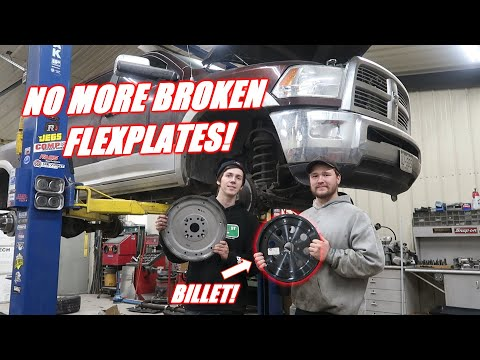 Putting a BILLET Flexplate In the Tow Rig!