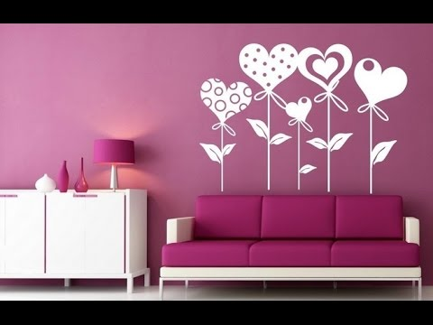 Vinilos decorativos ideas para decorar con adhesivos de pared youtube - Pegatinas para muebles ...