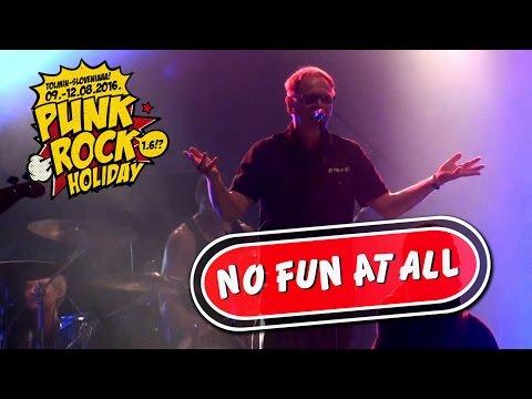 No Fun At All [Full SET] x22 @ Punk Rock Holiday (10/08/2016)