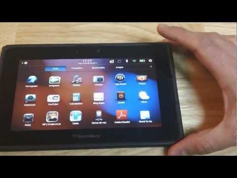 Análisis completo de la tableta Playbook de Blackberry en Español