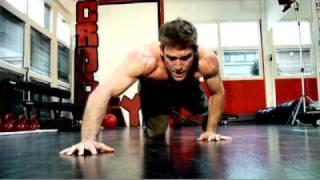 extreme crossfit training session - blai...