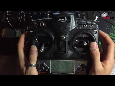 Hướng dẫn Setup TX devo 7 Cho Helicopter 6ch    Heli 450