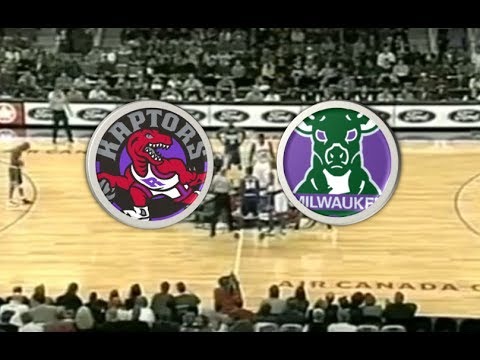 Toronto Raptors (4-4) VS Milwaukee Bucks (3-5) | 2000-2001 | NBA