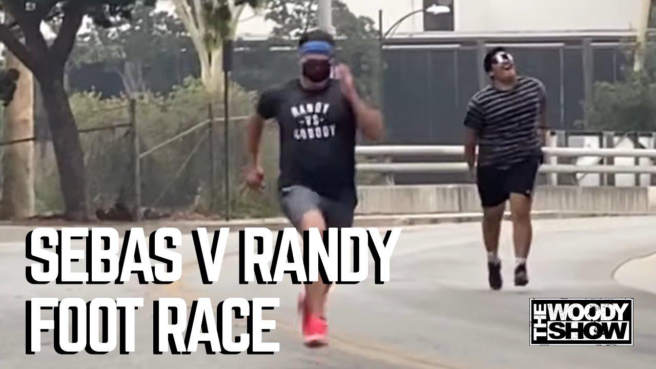 Sebas vs. Randy Foot Race!
