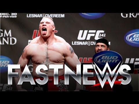 BROCK LESNAR VOLTANDO PRO UFC? - FASTNEWS
