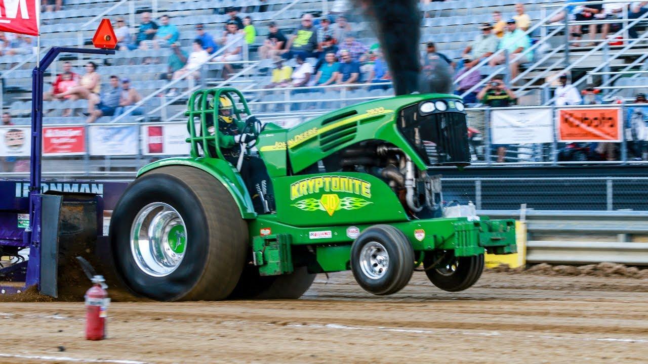 Carolina Motorsports Park >> Super Stock Diesel Tractors pulling at Benson June 1 2018 - YouTube