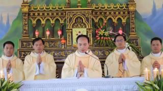 Tân Linh Mục quê hương - Giu-Se Phan Văn Danh - Dâng Lễ Tạ Ơn tại giáo họ Xuân Tiêu.