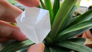 Кристаллы из хлорида калия(Сегодня мы будем выращивать кристаллы из садового хлорида калия. Можно ли из него получить красивые криста..., 2016-06-23T16:08:04.000Z)
