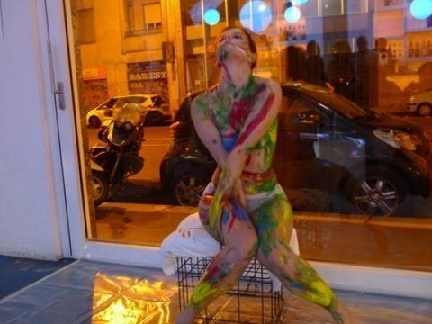 Body Painting Performance Marta Santospirito