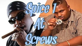 Spice 1 Freestyle - At DJ Screw's House In Houston
