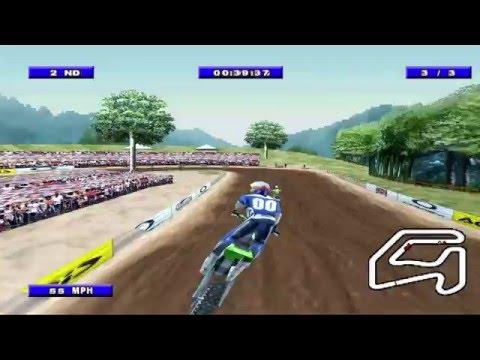 Championship Motocross 2001 feat Ricky Carmichael - PlayStation Amateur Championship 01 Mountain V