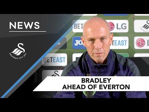 Swans TV - Preview: Bradley ahead of Everton