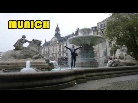 2013 Oktoberfest Munich Germany Part 09 — Walking around Munich with Russian girl
