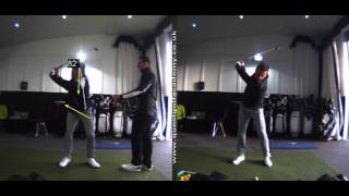 Back Swing Tilt and Hip Slide Change - With Peter Finch