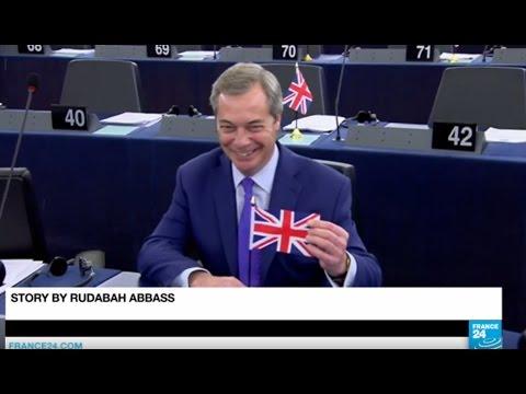 Brexit: EU Parliament backs