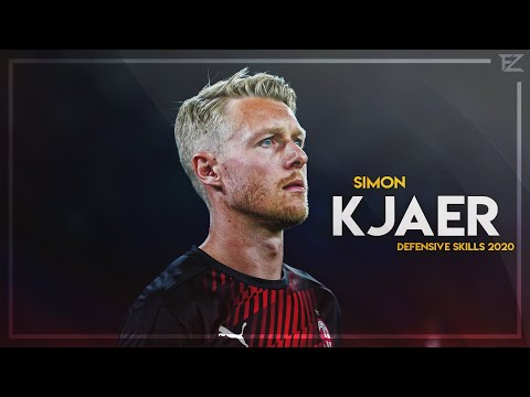 Simon Kjær 2020 ● AC Milan ▬ Defensive Skills & Tackles   HD