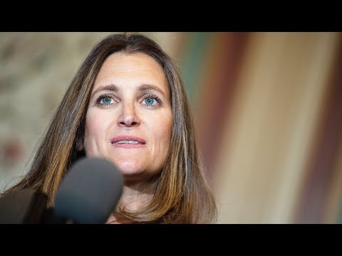 Trump's tariffs on Canadian metals are illegal and absurd, says Chrystia Freeland