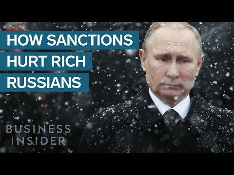 How Sanctions On Russia Hurt Putin's Closest Allies